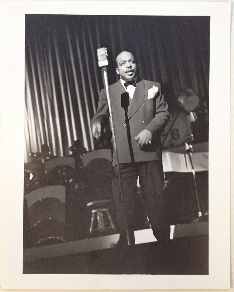 Early Photograph from a Performance. Count BASIE, 1904 - 1984.