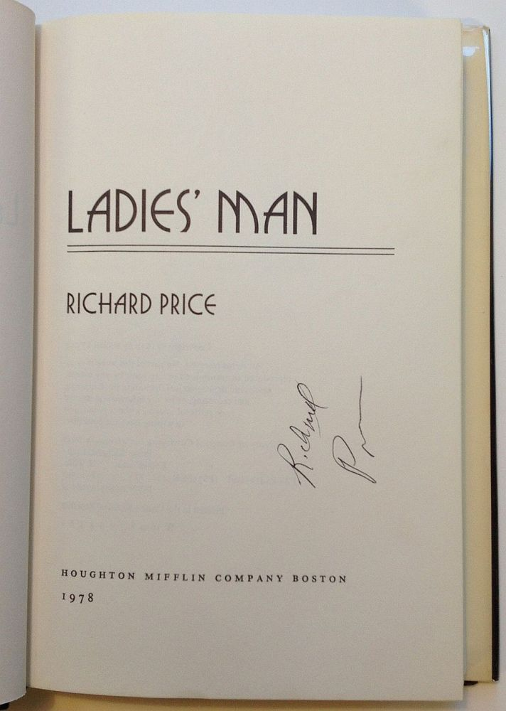 Ladies' Man. Richard PRICE.