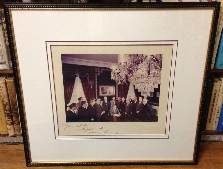 Framed Photograph inscribed to a Presidential Aide. Henry KISSINGER, 1923 -.