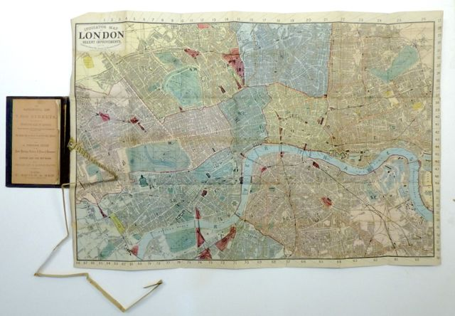 Indicator Map of London with the Recent Improvements. Charles SMITH.