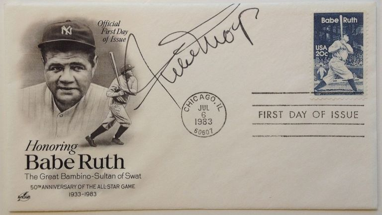 Signed First Day Cover. Willie MAYS, 1931 -.