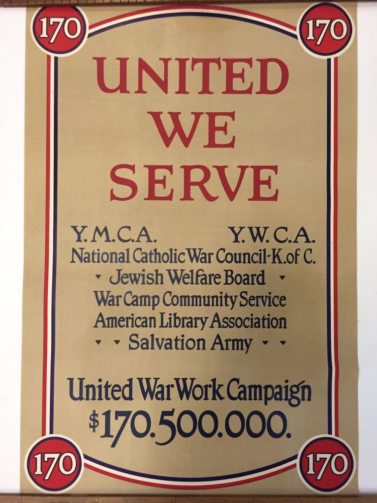 United We Serve. ANONYMOUS.
