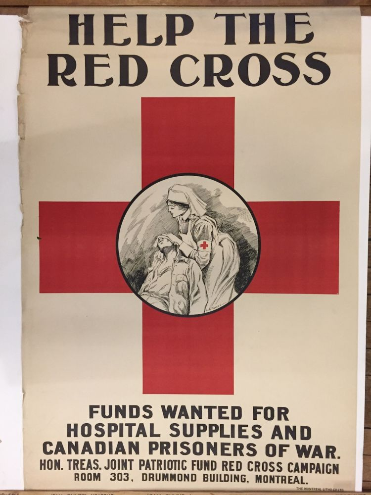 Help the Red Cross; Funds wanted for hospital supplies and Canadian prisoners of war. A. G. RACEY.
