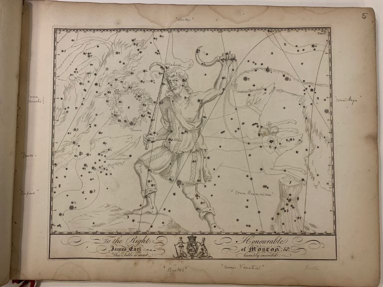"[Atlas Celeste]; Exceedingly rare edition of John Bevis's 'Unpublished' Atlas Celeste, also referred to by some as the ""Forgotten Star Atlas"" or the ""Ghost Book"" John BEVIS."