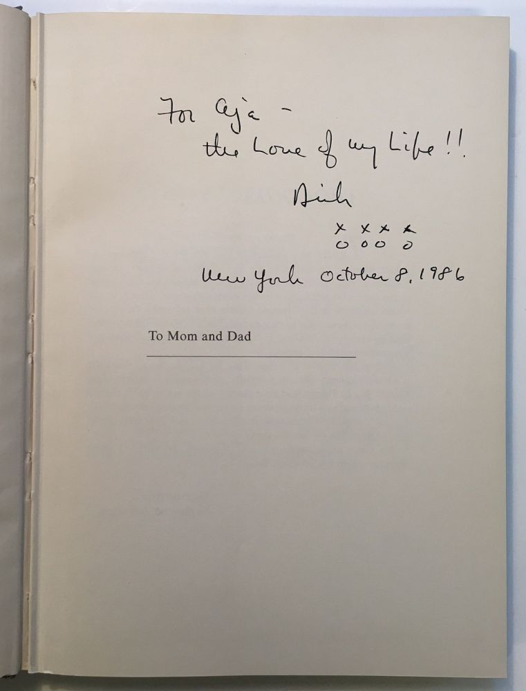 Dick Button on Skates -- inscribed book with a Typed Letter Signed. Dick BUTTON.