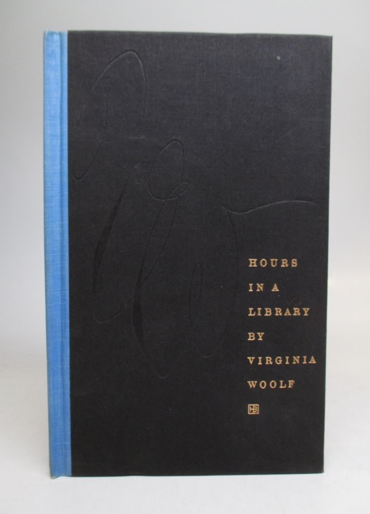 Hours in a Library. Virginia WOOLF.