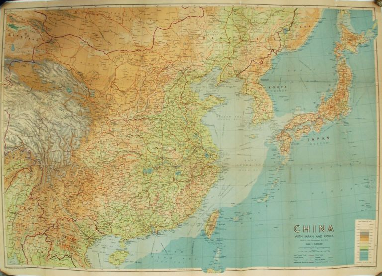 China with Japan and Korea. John BARTHOLOMEW.