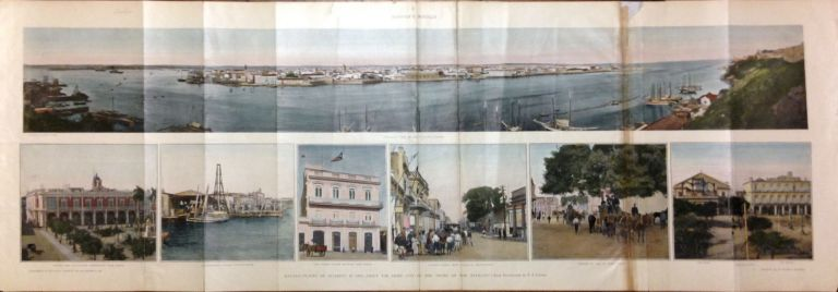 """Havana - Places of Interest In and Around the Chief City - """"The Pearl of the Antilles"""" HARPER'S WEEKLY."""