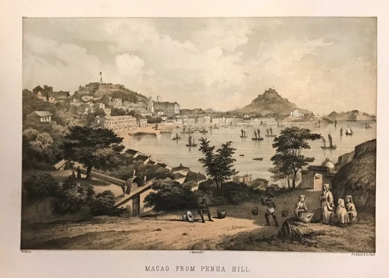 Macao from Penha Hill. P. S. DUVAL.