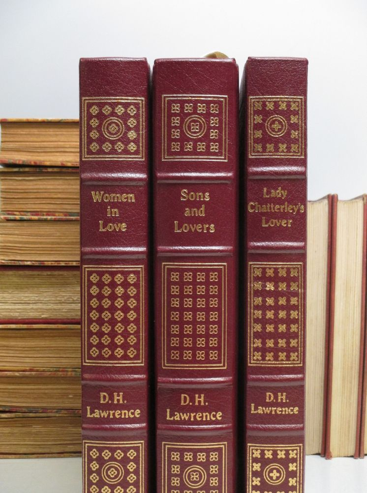Sons and Lovers; Women in Love; Lady Chatterley's Lover. D. H. LAWRENCE.