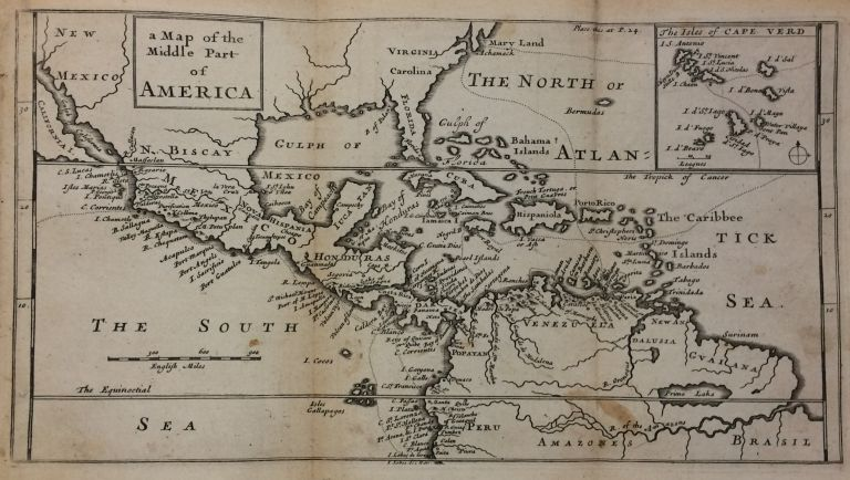 A Map of the Middle Part of America. Herman MOLL.