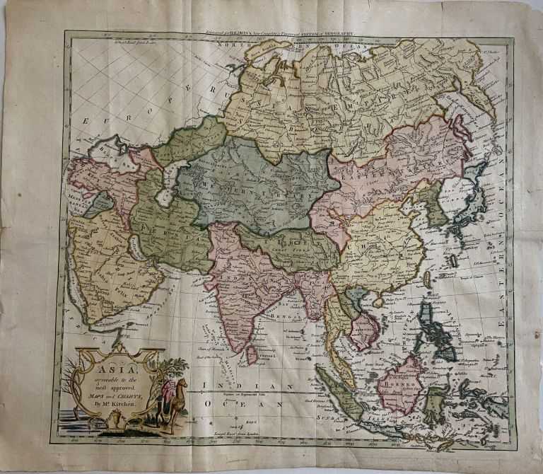 Asia, agreeable to the most approved Maps and Charts. Thomas KITCHIN.