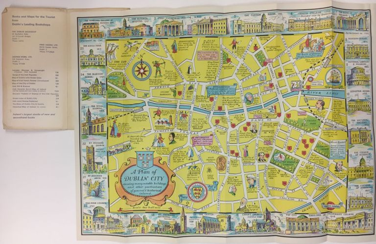A New Plan of Dublin City; showing many notable buildings and other particulars of general and historical interest. ANON.