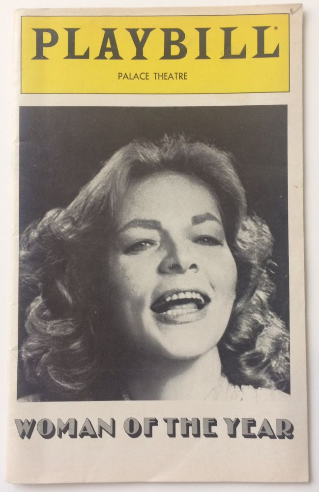 Playbill. Lauren BACALL, 1924 - 2014.