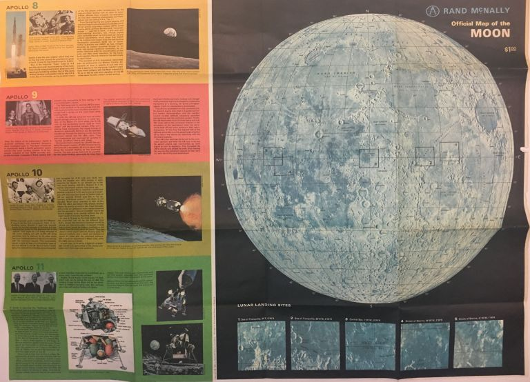 Official Map of the Moon. Anonymous.
