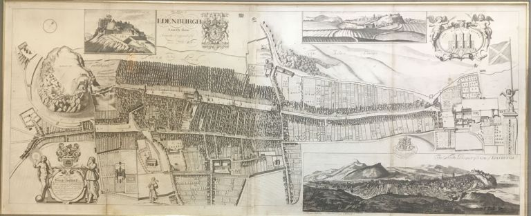 The Plan of Edenburgh Exactly done From the Original of ye famous D: Wit. John BOWLES.