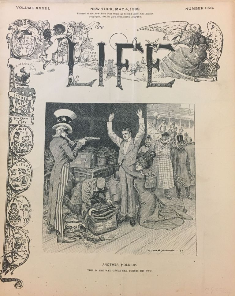 Life [May 4, 1899]. ANONYMOUS.