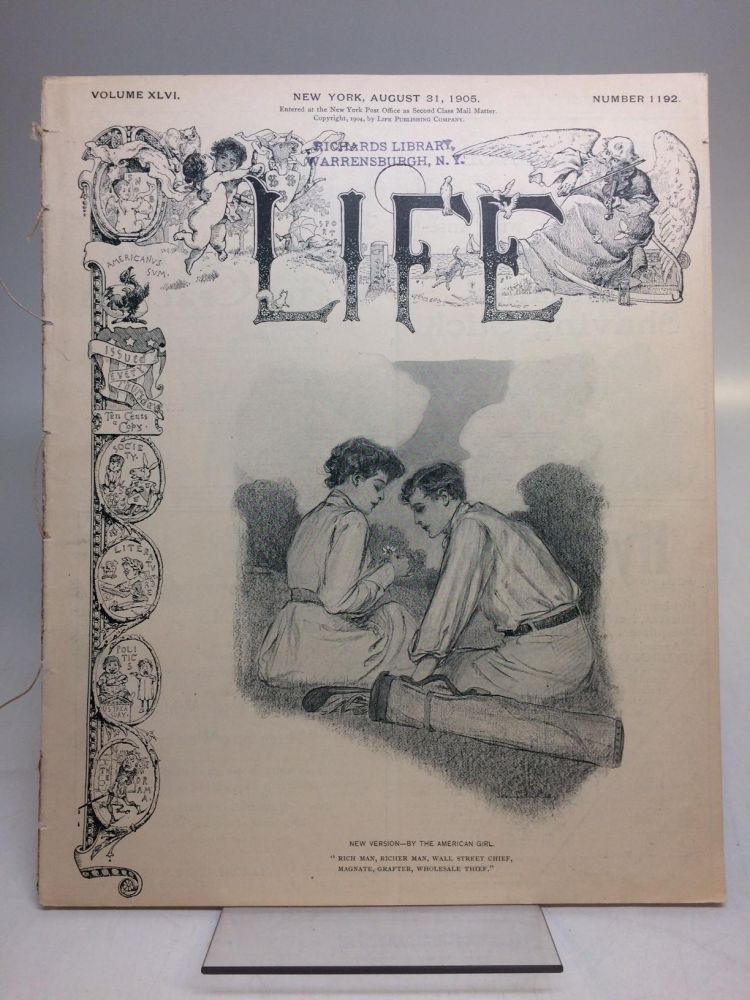 Life [August 31, 1905]. ANONYMOUS.