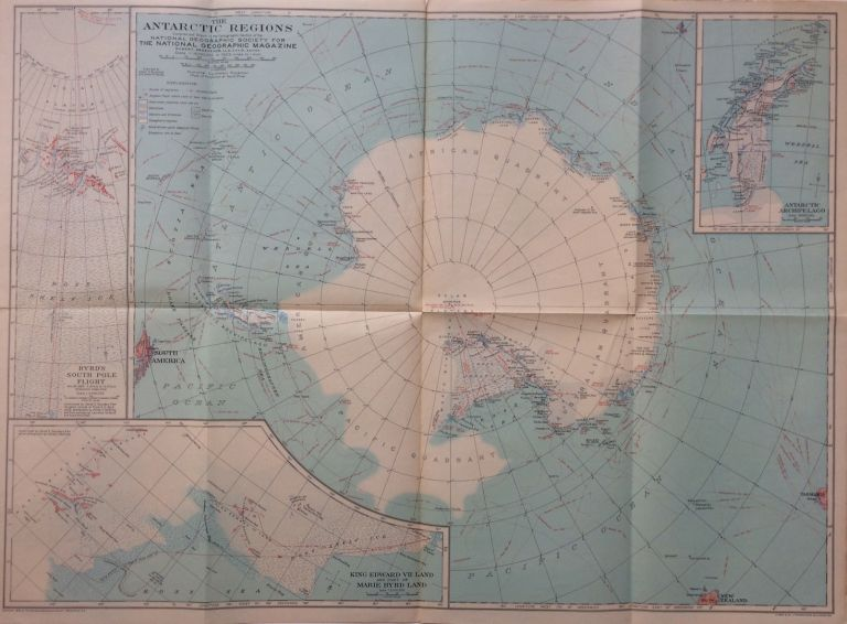 The Antarctic Regions. NATIONAL GEOGRAPHIC SOCIETY.