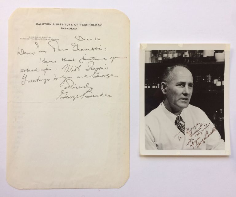 Autographed Letter Signed. George W. BEADLE.