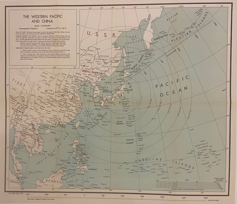 The Western Pacific and China. Paul Hibbert CLYDE.