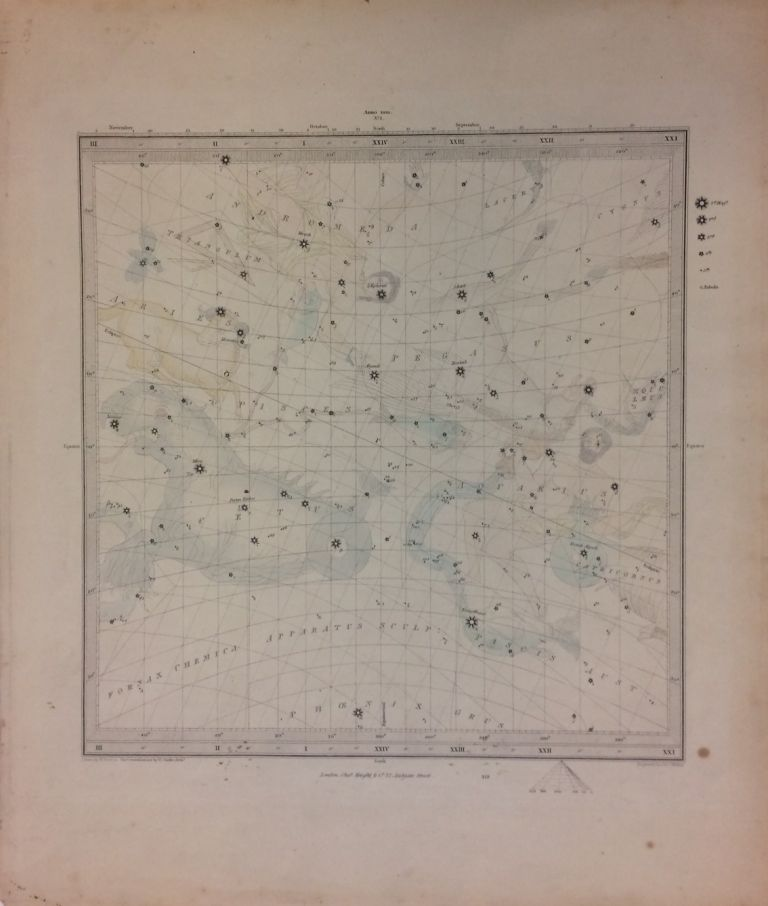 Maps of the Stars. SDUK, Society for the Diffusion of Useful Knowledge.