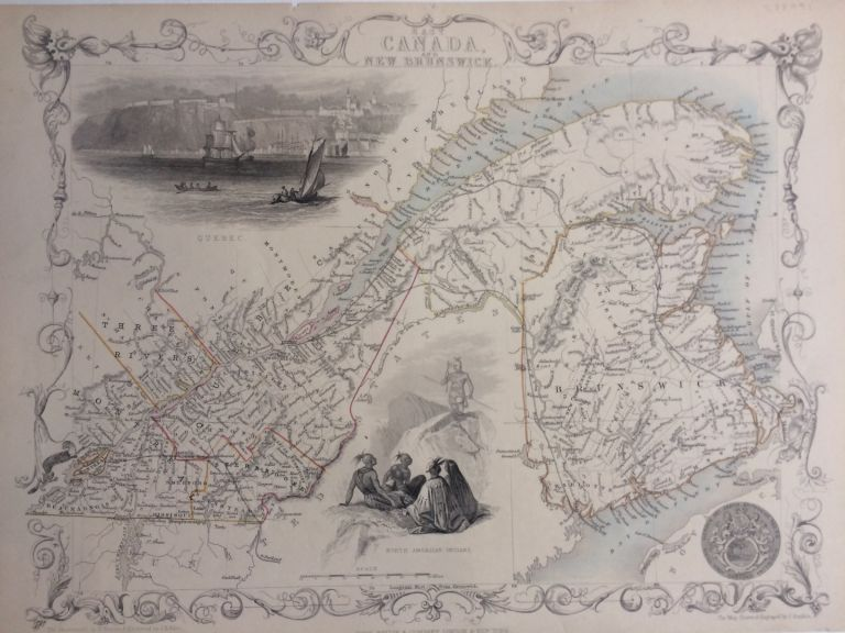 East Canada and New Brunswick. John TALLIS.
