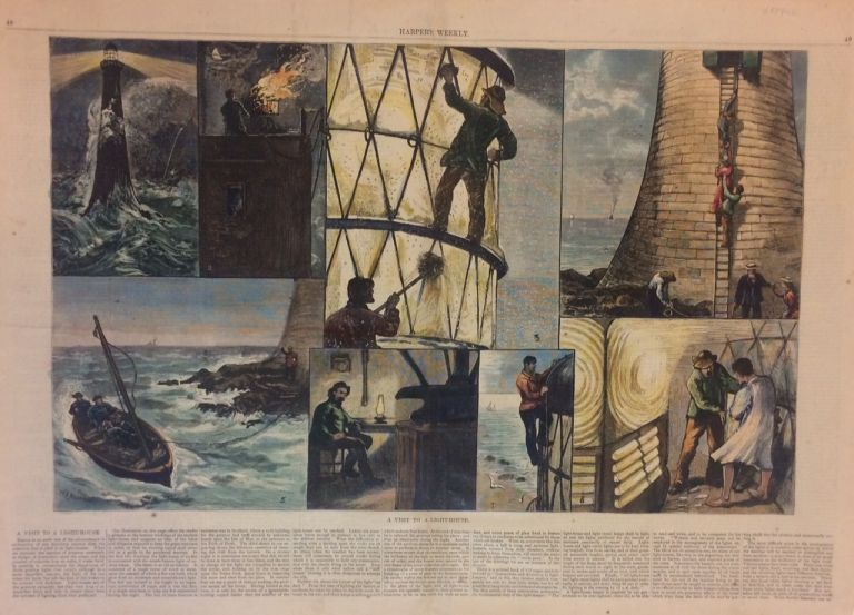 A Visit to a Light-House. W. B. MURRAY, HARPER'S WEEKLY.
