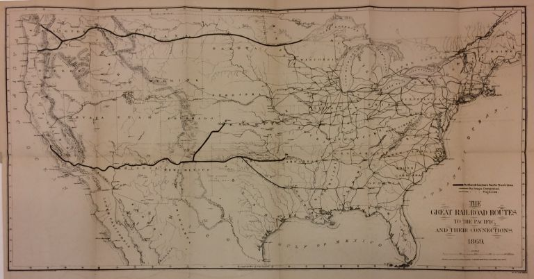 The Great Railroad Routes to the Pacific, and Their Connections.; within The Policy of Extending Government Aid to Additional Railroads to the Pacific, by Guaranteeing Interest on Their Bonds. MAJORITY OF THE SENATE COMMITTEE ON PACIFIC RAILROAD.