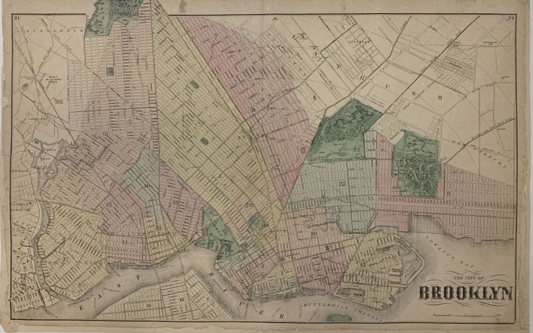The City of Brooklyn. Frederick W. BEERS.