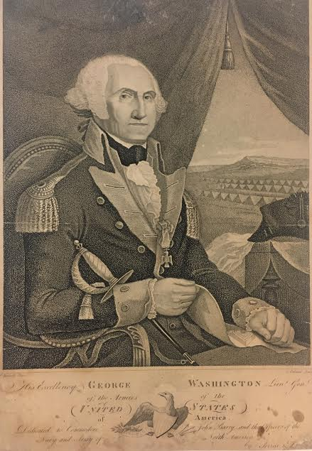 His Excellency George Washington Lieut. Genl. of the Armies of the United States of America. FERRAI, DUPIN.