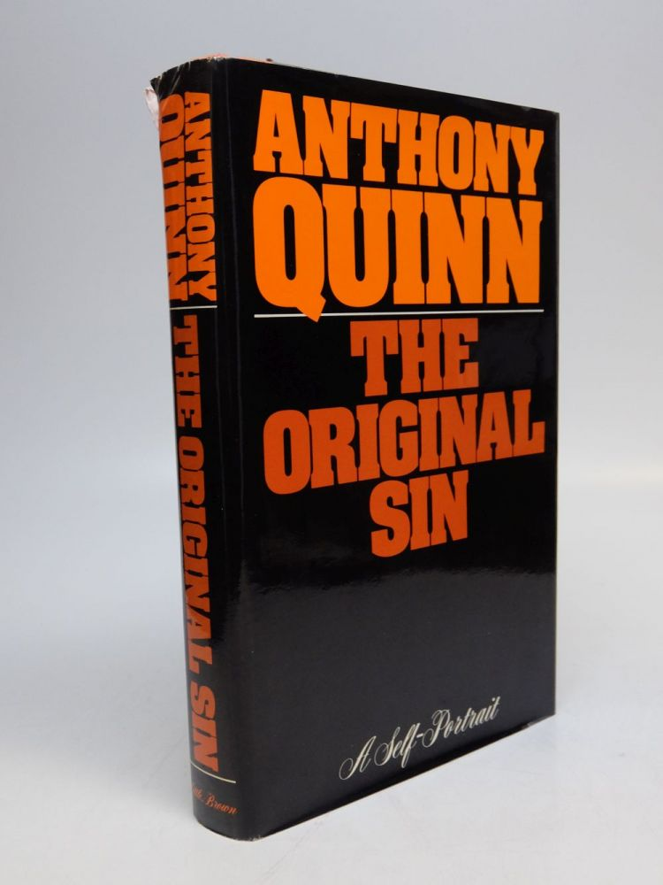 The Original Sin; A Self-Portrait. Anthony QUINN.