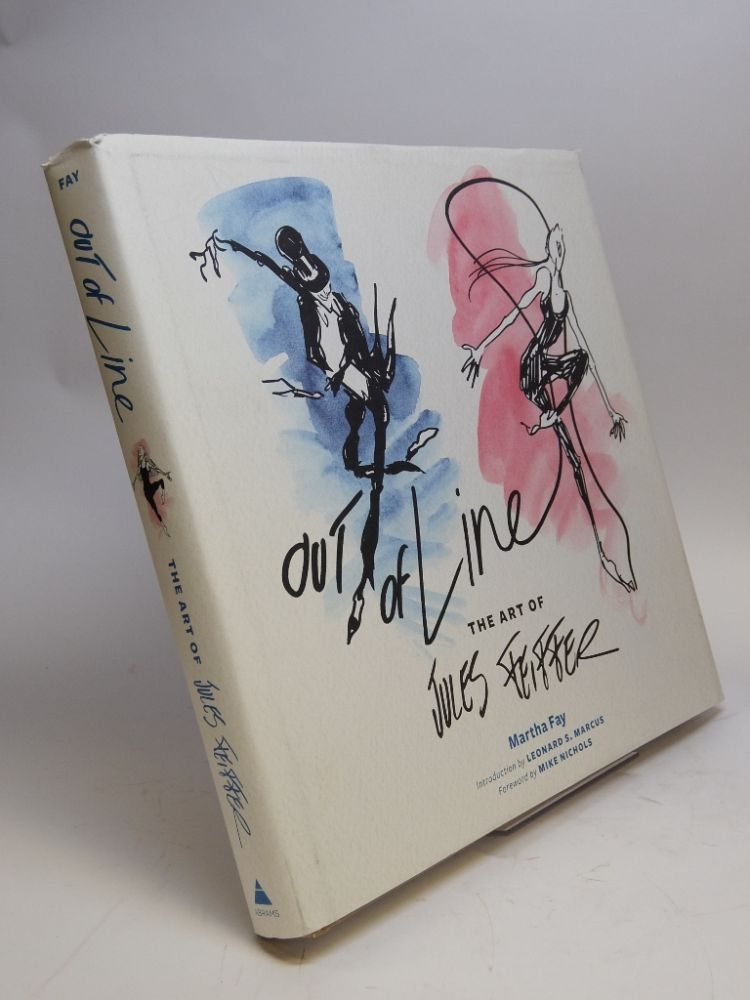 Out of Line; The Art of Jules Feiffer. Jules FEIFFER, Martha FAY.