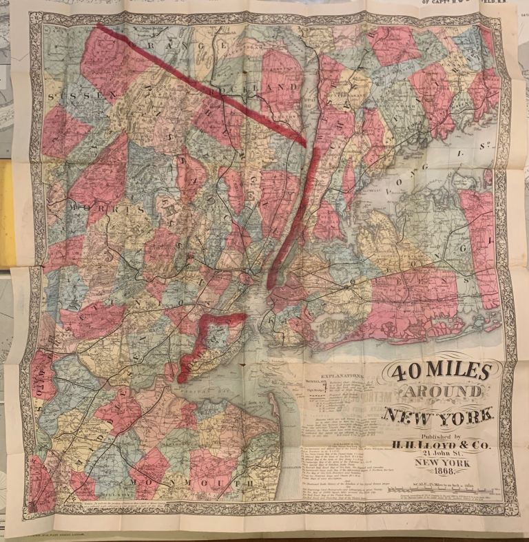 New York and Forty Miles Around it. James T. LLOYD.