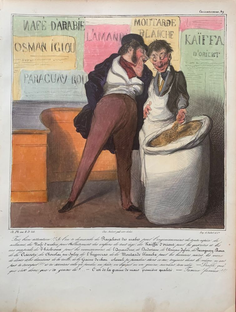 Racahout of the Arabs. Honore DAUMIER, Charles PHILIPON.