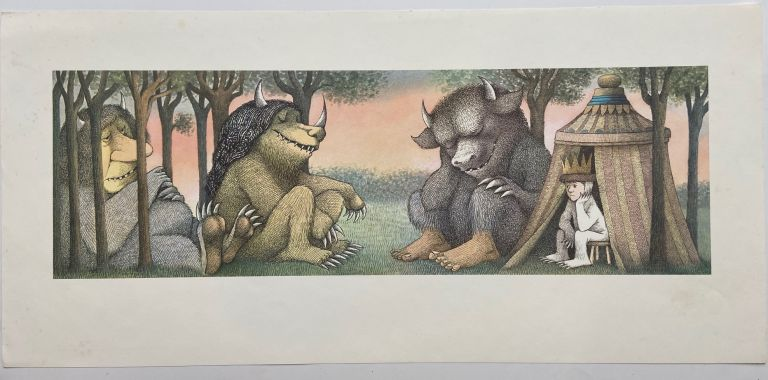 Untitled (Where the Wild Things Are). Maurice SENDAK.