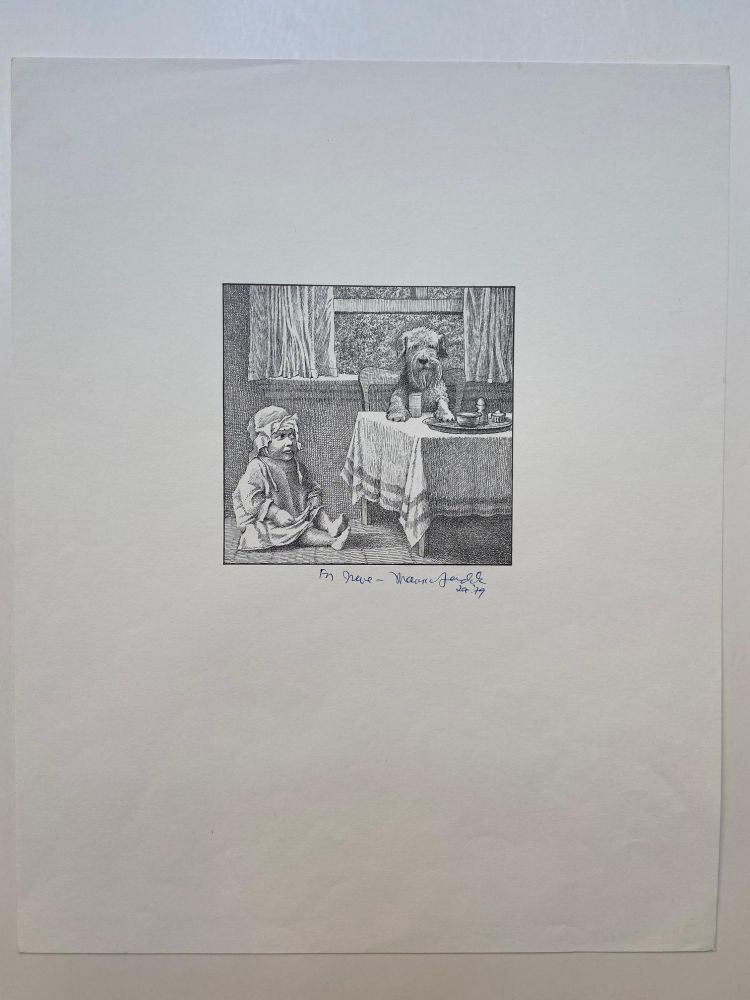 Untitled (Jennie and child). Maurice SENDAK.
