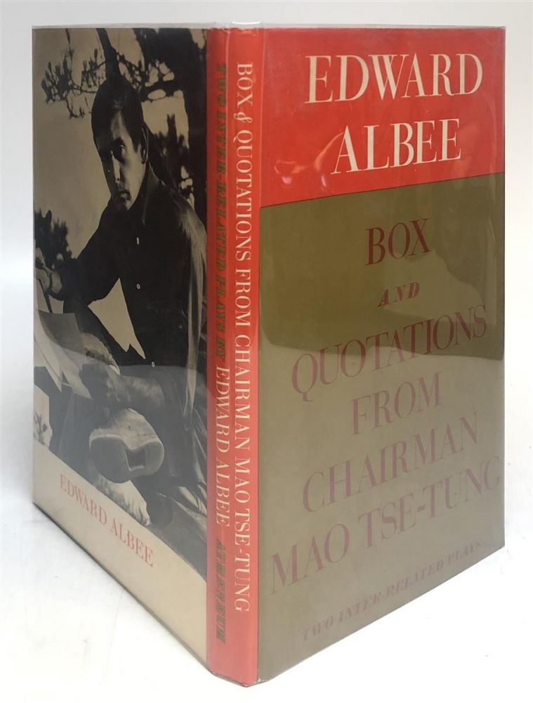 Box and Quotations from Chairman Mao Tse-Tung. Edward ALBEE.