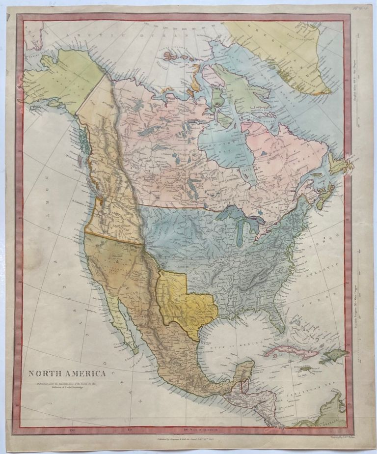 North America. SDUK, Society for the Diffusion of Useful Knowledge.