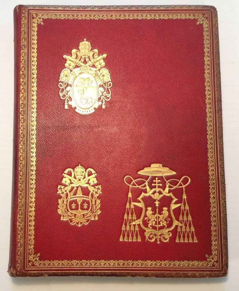 Remarkable Autograph Album. POPE LEO XIII.