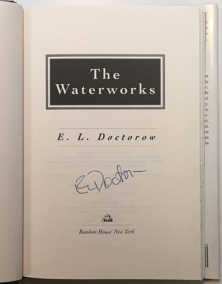 The Waterworks. E. L. DOCTOROW.