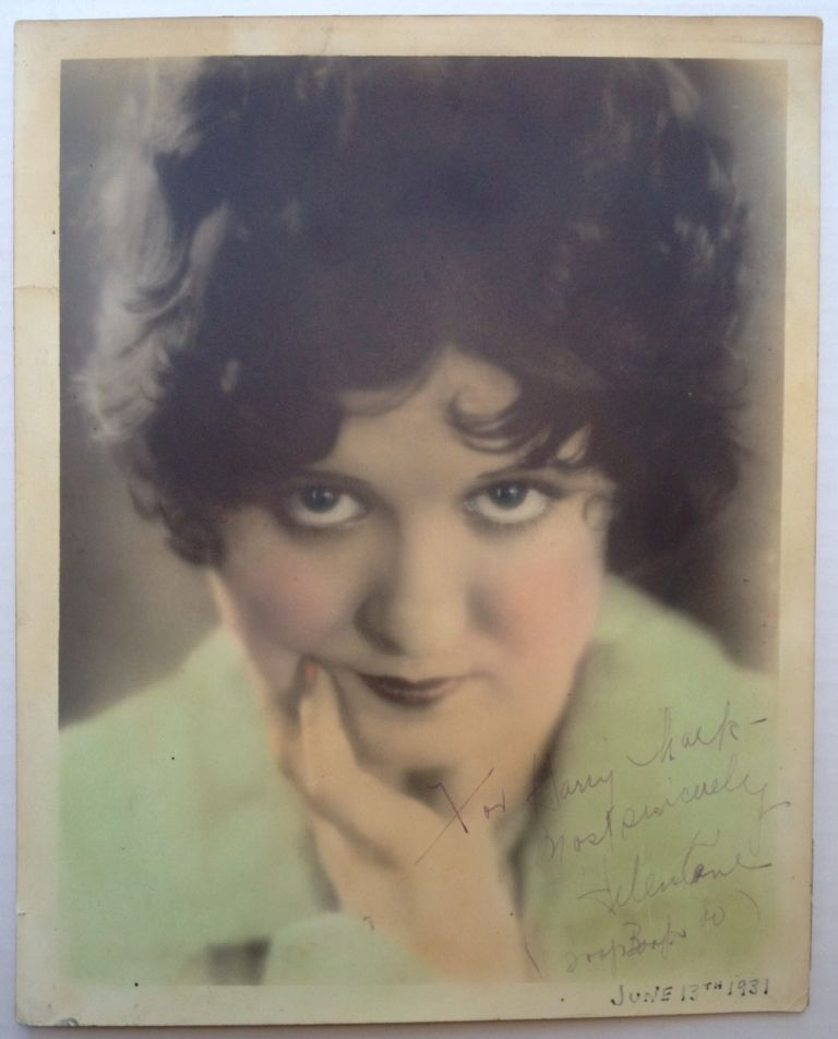 Inscribed Vintage Photograph. Helen KANE, 1904 - 1966.