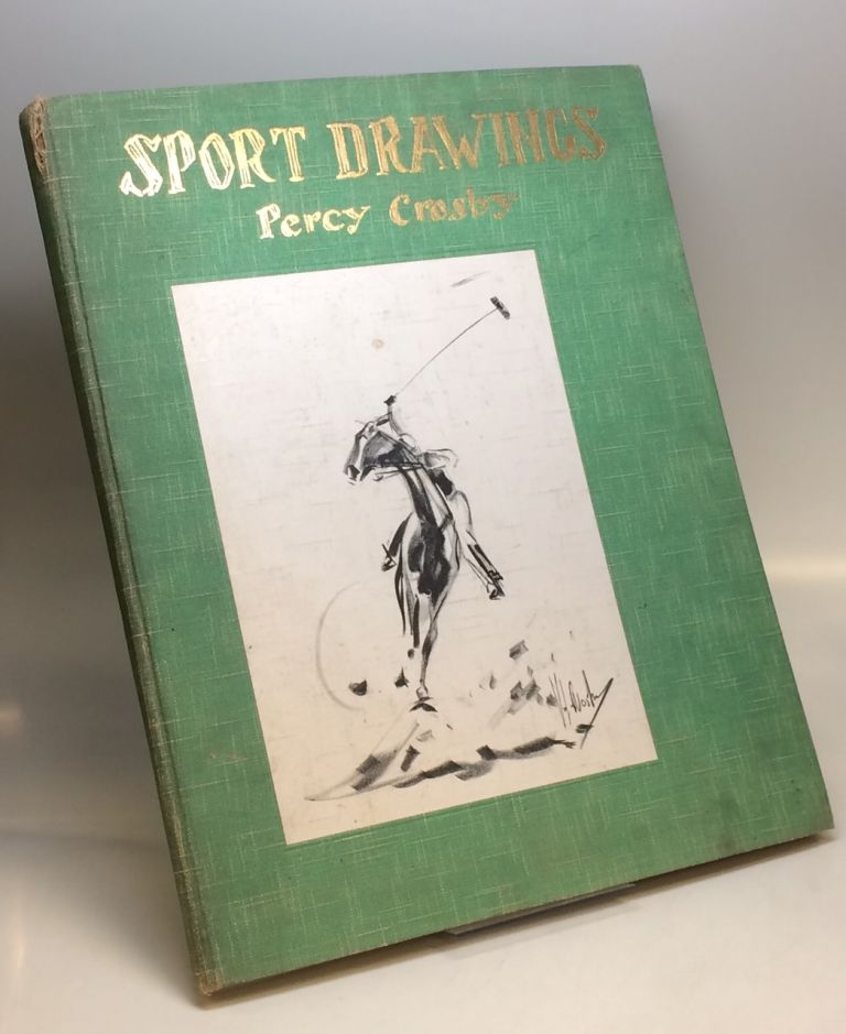 Sport Drawings. Percy CROSBY.