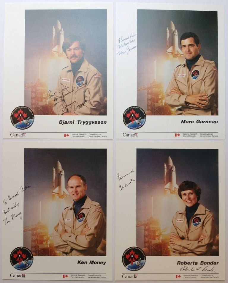 Rare collection of memorabilia from the Canadian Astronaut Program. SPACE EXPLORATION.