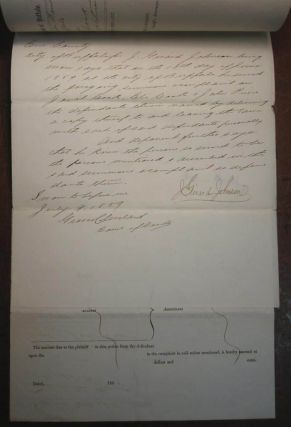 Three Signed Documents from a lawsuit