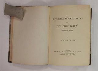 The Butterflies of Great Britain with Their Transformations, Delineated and Described.