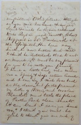 Lengthy Autographed Letter Signed on Union Army letterhead