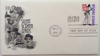 Signed First Day Cover. Al HIRSCHFELD, 1903 - 2003