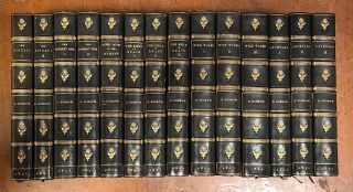 First Editions of various George Borrow Titles, Bound as Matching Set:; The Zincali, The Bible in...
