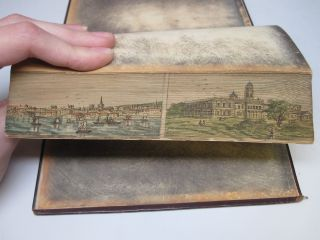 [DOUBLE FORE-EDGE PAINTING]. Poems.